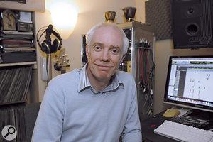 Paul Shepherd, this month's Studio SOS candidate.