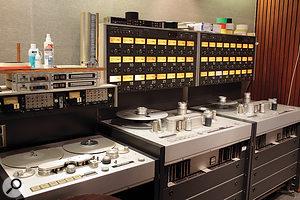Analogue Multitracks & Video Post-production