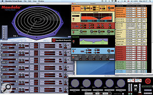 The Mandala's Virtual Brain sets it apart from other drum pad instruments and, because it's software, keeps the overall cost down.