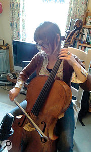 Elle Osborne's cello was a fruitful source of noise and texture, as well as counterpoint.