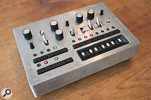 The prototype of the Korg Monotribe.