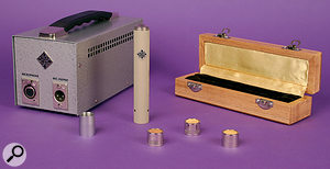 The ELA M260 comes with three Telefunken capsules, as well as an adaptor for AKG capsules.