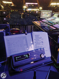 The Who pioneered the use of multitrack playback systems on stage, starting off with four–track tape machines, but now using a  24–track digital system.