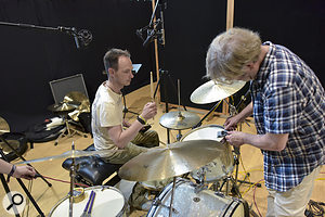 George Massenburg and drummer Norman Garschke.