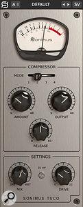 Sonimus TuCo compressor plug-in.
