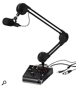 The Miktek Procast comes with a  boom arm, and even a  compact mixer.