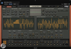 The mapping generators can be used in a  variety of ways, from audio waveforms to complex modulation sources.