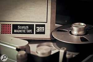 The ultimate in tape? A single reel of Scotch 206 was used for all the mixes.