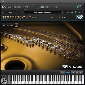 True Keys Pianos' American Steinway D concert grand.