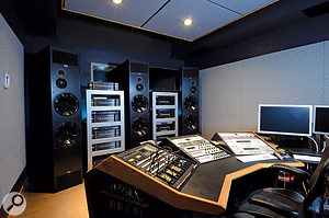 Vlado Meller's purpose-built mastering suite at Truphonic Studios in Charleston, South Carolina.