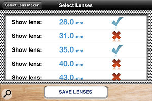 There are plenty of sensor and film options, encompassing most popular cameras.