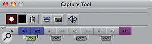 With the introduction of stereo audio tracks, you can elect to create linked stereo audio at the capture stage.