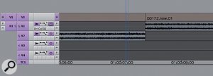 Audio tracks can now contain stereo data, rather than being made using two mono tracks.