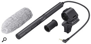 The simplest way to improve the sound of your recordings is to attach aseparate mic, like this Sony ECM CG50, to your camera.