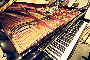 The Bösendorfer 290‑755 Imperial grand sits in splendid isolation at VSL's Silent Stage. Noplayer required!
