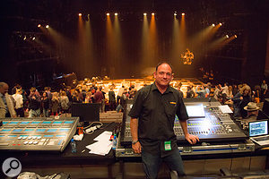Mark Portlock is one of many engineers who still regularly uses the venerable Shure SM58.