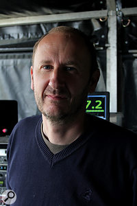 Jon Burton has toured with the Prodigy as their FOH engineer for over 14 years, and is currently also working with Richard Hawley.
