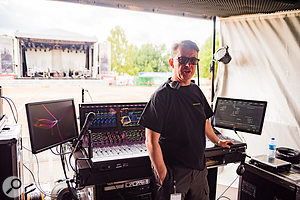 Chris Madden has mixed shows for Sade, Jessie J, Pink and Anastacia, and is another fan of Sennheiser's stage mics.
