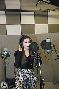 Any choice of vocal mic will always be secondary to the singer's performance.