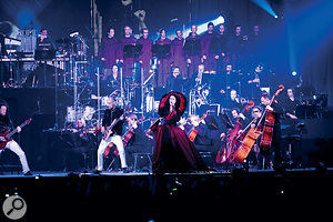 Within Temptation and the Metropole Orchestra rock the Ahoy Arena.