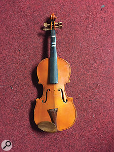 The one-stringed kid's violin used on album opener 'See How'.