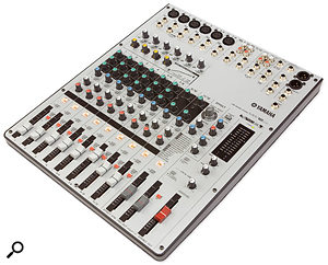 The MW12CX is the smaller of the two mixers reviewed here. It is suitable for both home recording and live sound applications, and could be particularly useful for simple stereo recordings of small gigs.