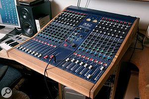 Right: TL Audio's VTC valve desks are integral to both of Youth's studios.