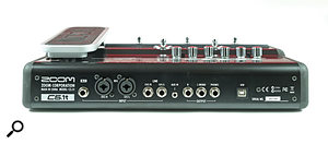 Although the C5.1t is only a  two–in, two–out interface, it has enough sockets to connect guitars, line inputs and mics simultaneously.