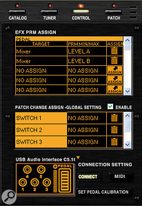 All of the C5.1t's controls can be assigned to multiple ZFX parameters.