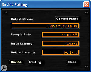 The C5.1t driver panel is very simple.
