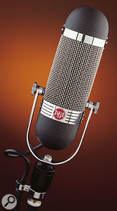 AEA R84 ribbon microphone.