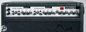 Both input channels have the same range of sensitivities and Colour switch, although only channel two can access the rear panel XLR. The newly-added Pre-Master control governs the line-level outputs without affecting the feed to the power amp. Confusingly, the tiny legending that appears beneath the LED chains in fact pertains to the switches below.