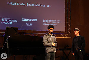 <strong>Akala on stage with Thomas Dolby: </strong>Akala - TEDx Aldeburgh 2011
