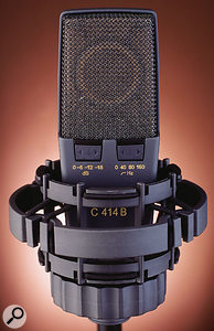 The reverse side of the new mic carries pad and filter switches.