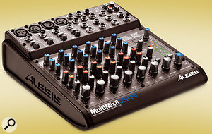 If the MultiMix 16 offers more channels than you need, you could go for the smaller model. As its name implies, the MultiMix 8 USB 2.0 offers half the number of channels and mic preamps but has otherwise very similar functionality.