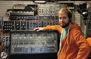 Alex Ball podcast ARP synth