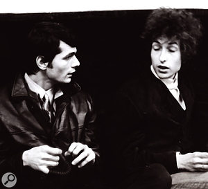 Kooper with Bob Dylan in 1965.