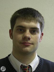 Forensic audio specialist Philip Harrison.