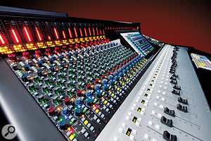 AMS Neve Genesys console