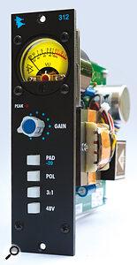 API 312 mic preamp.