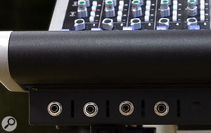Small details matter: having four instrument inputs and two headphone inputs accessible from the front of The Box is a good, practical improvement on the original design.
