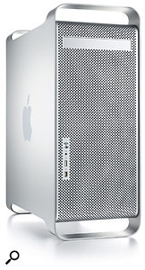 Apple G5 'cheese grater' computer.