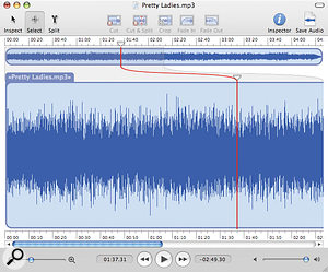 Fission is a new audio editor that lets you work destructively with compressed audio files, without having to recompress them again (resulting in a loss of quality) when you save.