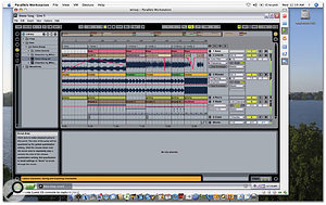 The performance of Ableton's Live running under Parallels Workstation (beta version 4) is comparable to that of a native system.