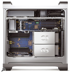 Power supplies are implicated in noise problems with some G5s.