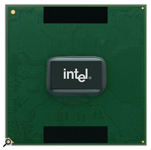 Intel processors... coming fairly soon to a Mac near you.