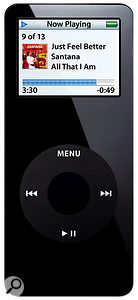 The iPod Nano. Small but perfectly formed...