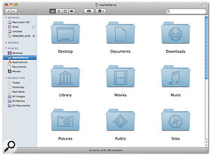 The Home folder on your Mac is unique for every user account on that Mac, and contains an all-important Library folder where applications will store user-specific applications and content.