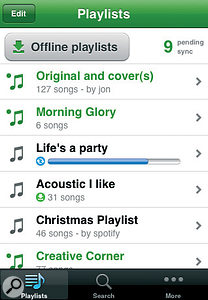 The Spotify iPhone app is now the App Store's number one 'free' offering.