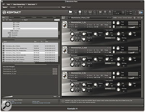Tonehammer's Montclarion Piano in Native Instruments' Kontakt. This instrument must have been designed on a 27-inch screen!